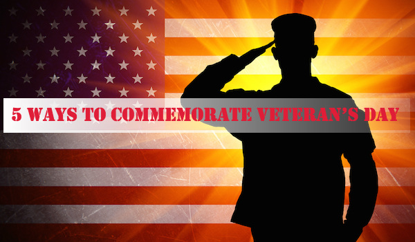 5 Ways to Commemorate Veteran's Day in Your Class
