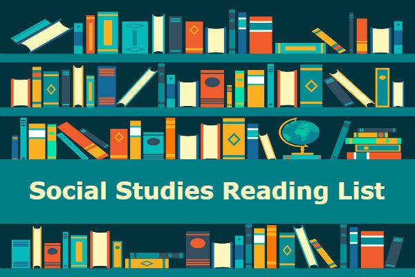 Social Studies Reading List