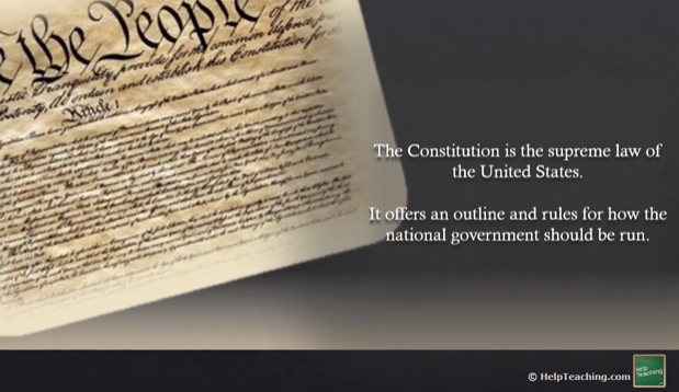 Social Studies Lesson: The Constitution