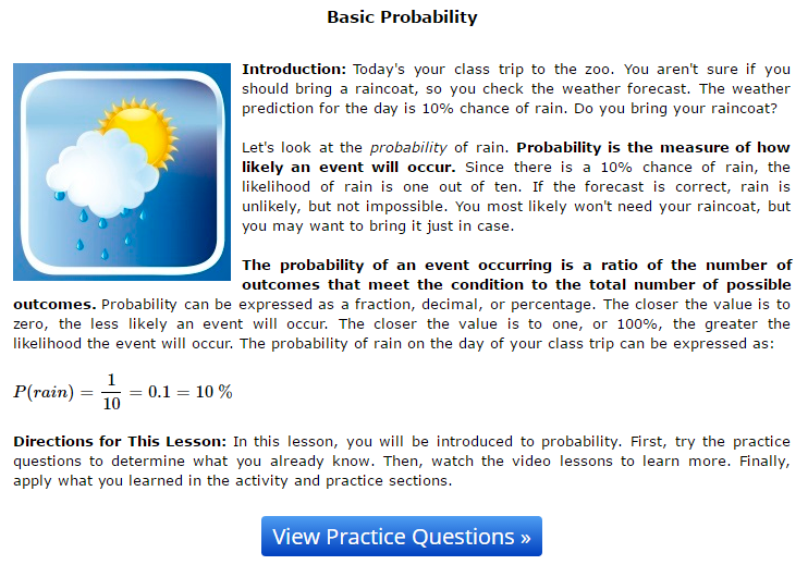 probability statistics help