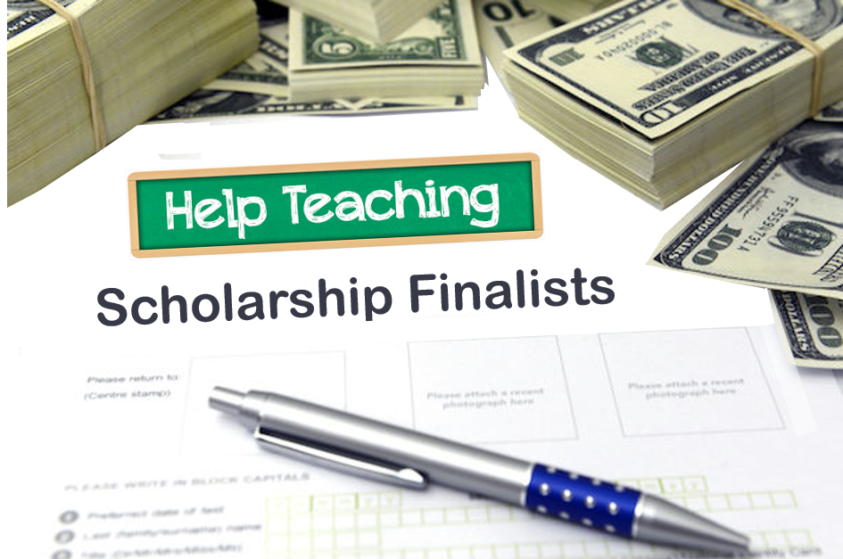 Help Teaching Scholarship Finalists