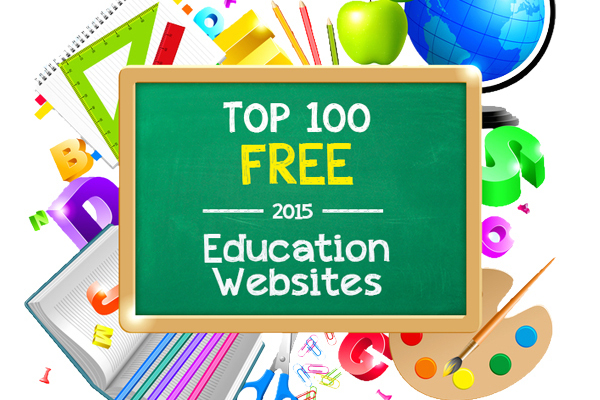 Top 100 Free Education Sites of 2015