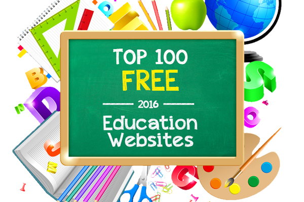 Top 100 Free Education Sites of 2016