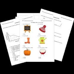 Properties of Matter Worksheets
