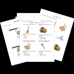 Simple Machine Worksheets