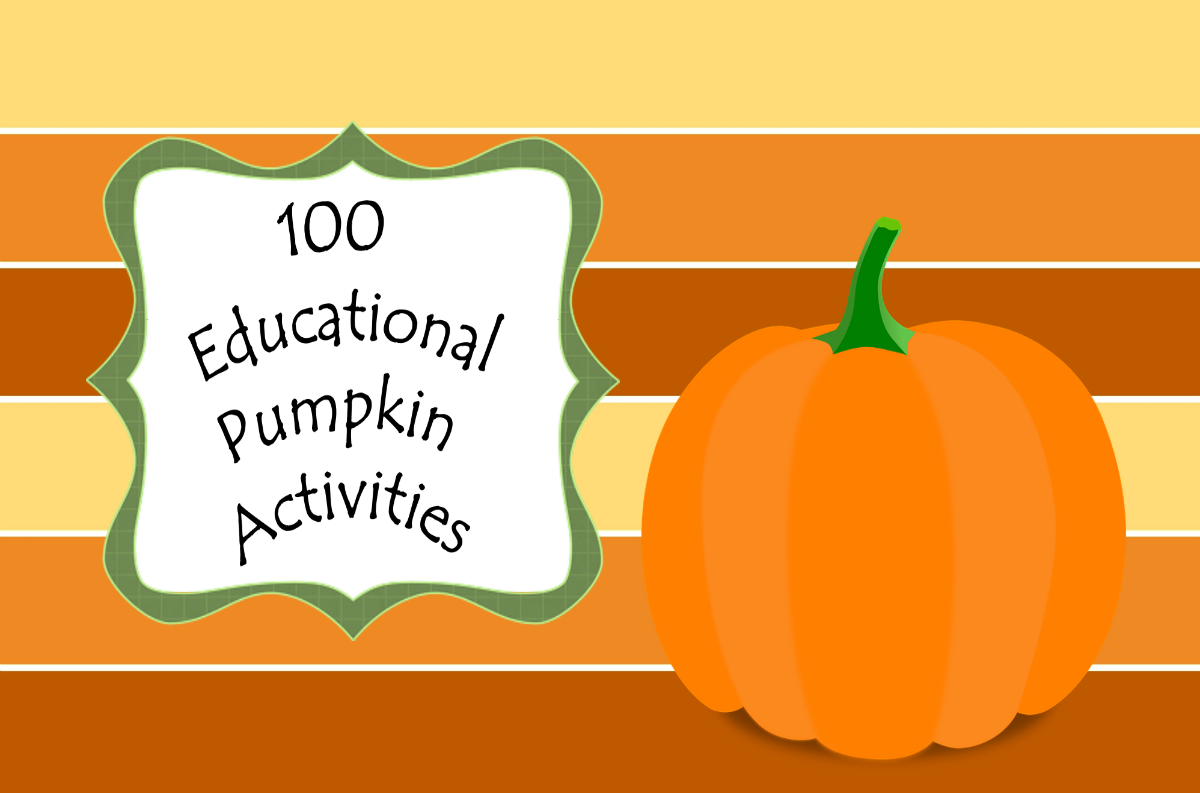 100 Educational Pumpkin Activities