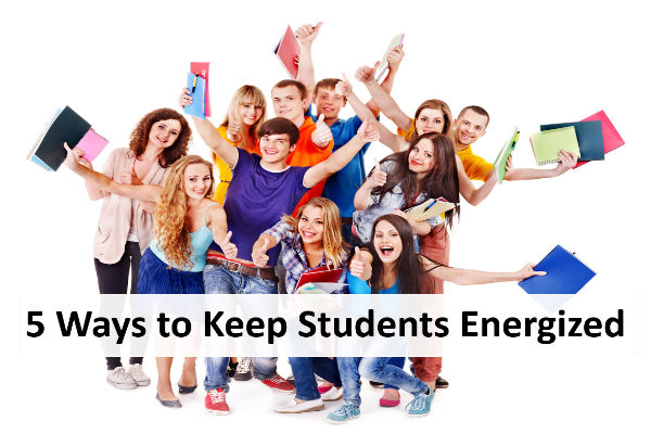 5 Ways to Keep Students Energized at the End of the Year