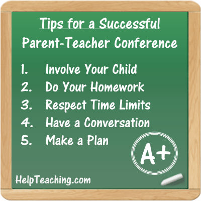 5 Tips for a Successful School Conference List
