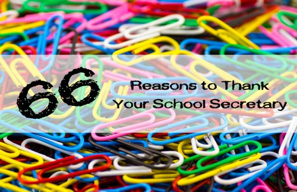 66 Reasons to Thank Your School Secretary