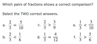 PARCC Style Math Problem Examples