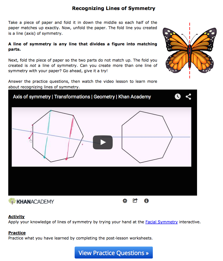 Online Self-Paced Lessons for Students - Math, Science, and