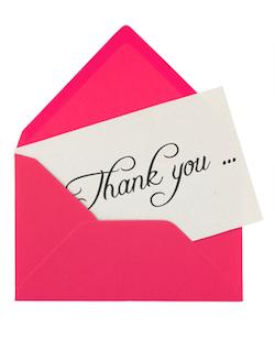 Gifts Ideas for Teacher Appreciation Week - Write a Handwritten Note