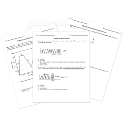 Forces and Motion Worksheets
