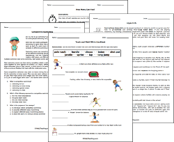 Physical Education Worksheets