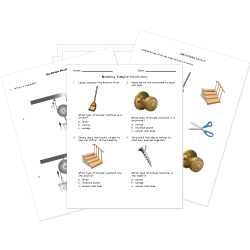 Simple Machine Worksheets
